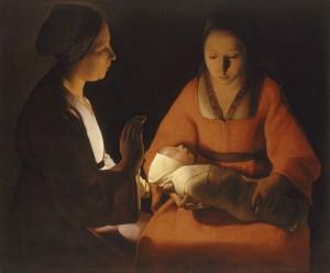 Nativité - Georges Quentin de la Tour
